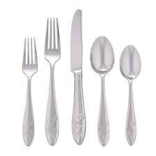 <strong>Lenox</strong> Butterfly Meadow 5 Piece Flatware Set