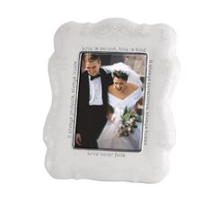 <strong>Lenox</strong> Opal Innocence Picture Frame - Love is Patient