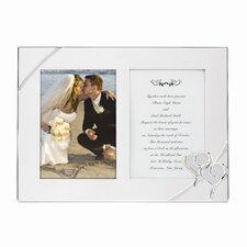 <strong>Lenox</strong> True Love SP Double Invitation Picture Frame