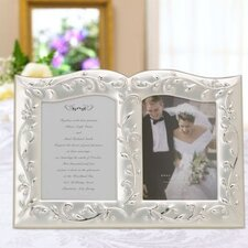 Opal Innocence Double Invitation Picture Frame