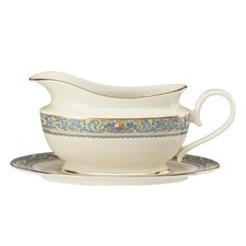Autumn 16 oz. Gravy Boat with Tray