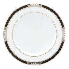 "Hancock Platinum White 6"" Butter Plate"