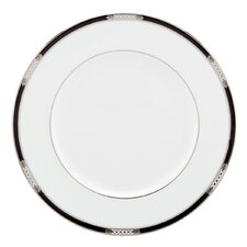 "Hancock Platinum White 10.8"" Dinner Plate"