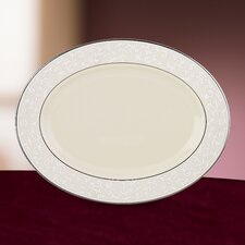 Pearl Innocence Oval Platter