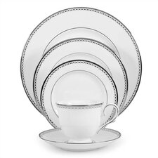 <strong>Lenox</strong> Pearl Platinum 5 Piece Place Setting