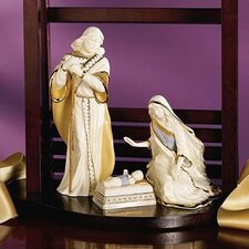 First Blessing Nativity Holy Family 3-Piece Set