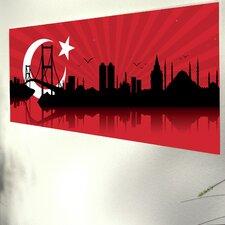 "Glasbild ""Istanbul"""
