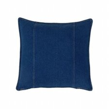 American Denim Cotton Square Pillow