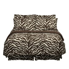 <strong>Karin Maki</strong> Brown Zebra Bed in a Bag Collection