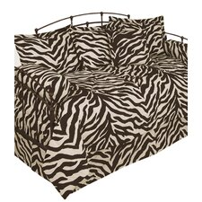 Zebra 5 Piece Comforter Set