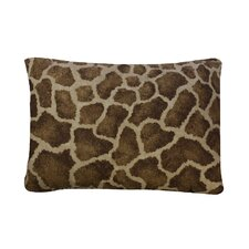 Giraffe Cotton Blend / Polyester Oblong Pillow
