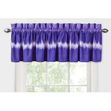 Tie Dye Cotton Blend Curtain Valance