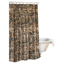 <strong>Realtree Bedding</strong> Max 4 Cotton Blend Shower Curtain