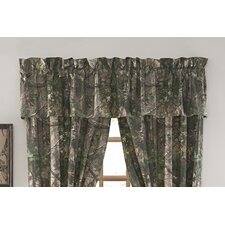 <strong>Realtree Bedding</strong> Xtra Cotton Blend Curtain Valance