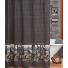 Whitetail Dream Cotton/Polyester Shower Curtain