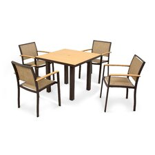 <strong>POLYWOOD®</strong> Bayline™ 5 Piece Dining Set
