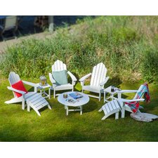 Long Island 9 Piece Conversation Adirondack  Seating Group