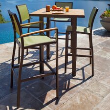 <strong>POLYWOOD®</strong> Bayline™ 5 Piece Bar Dining Set