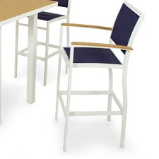 <strong>POLYWOOD®</strong> Bayline™ Bar Arm Chair
