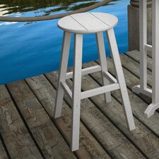 "Traditional 29.13"" Barstool"