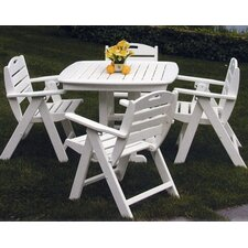 <strong>POLYWOOD®</strong> Nautical 5 Piece Dining Set