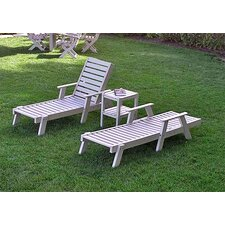 <strong>POLYWOOD®</strong> Captain Lounge Seating Group