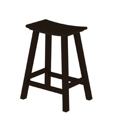 "Traditional 24.75"" Barstool"