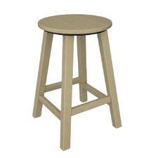 "Traditional 24.13"" Barstool"