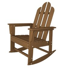 <strong>POLYWOOD®</strong> Long Island Adirondack Rocking Chair