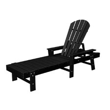 <strong>POLYWOOD®</strong> Shell Back Chaise Lounge