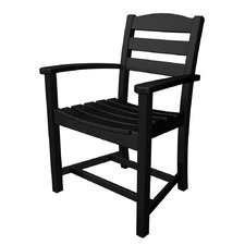 <strong>POLYWOOD®</strong> La Casa Cafe Dining Arm Chair