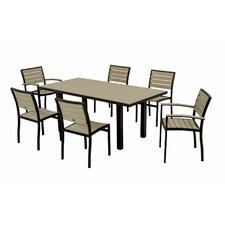 <strong>POLYWOOD®</strong> Euro 7 Piece Dining Set