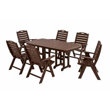 <strong>POLYWOOD®</strong> Nautical 7 Piece Dining Set