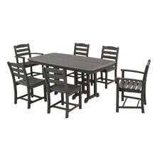 <strong>POLYWOOD®</strong> La Casa Cafe 7 Piece Dining Set