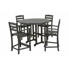<strong>POLYWOOD®</strong> La Casa Cafe 5 Piece Counter Set