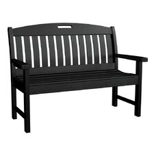 <strong>POLYWOOD®</strong> Nautical Plastic Garden Bench