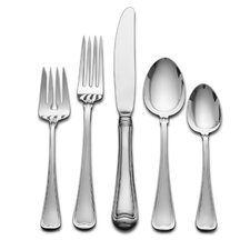 Sterling Silver Old French 66 Piece Dinner Flatware Set