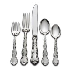 Strasbourg 46 Piece Flatware Set with Pie Server