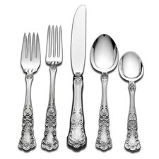 Gorham Buttercup 66 Piece Flatware Set with Pie Server