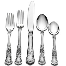 Gorham Buttercup 45 Piece Dinner Flatware Set with Pie Server