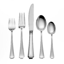 Sterling Silver Groham Fairfax 66 Piece Flatware Set