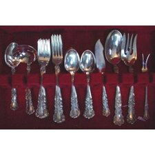 Gorham Buttercup 46 Piece Flatware Set with Pie Server