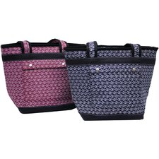 Market Sacc Tote with Bonustaupe Insulated Bag and Wristlet