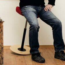 Move Stool with Cushion