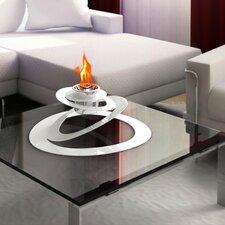 Ovia Steel Bio Ethanol Table Top Fireplace