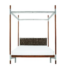 Edward II Double Canopy Bed