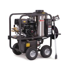 <strong>Shark Pressure Washers</strong> SGP Series 3.5 GPM Honda GX390 Electric Start Hot Water Pressure Washer