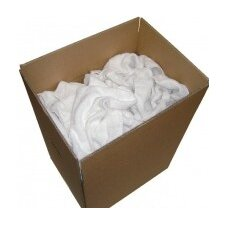 New White Lint Free Cotton Wiping Cleaning Cloth Rags