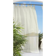 Outdoor Décor Escape Tab Top Curtain Panel