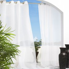 <strong>Commonwealth Home Fashions</strong> Outdoor Décor Escape Grommet Curtain Single Panel
